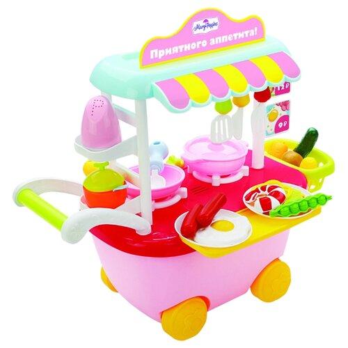 Фото - Игровой набор Mary Poppins Кафе на колесах Приятного аппетита 453133 желтый/розовый игровой набор bondibon кафе гамбургерная вв3699 желтый зеленый