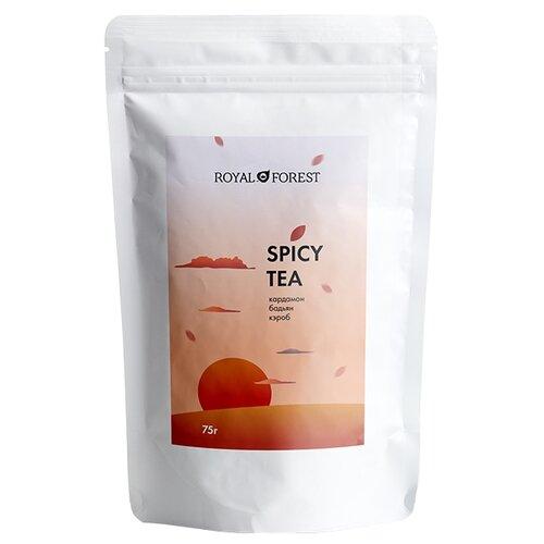 Чай масала Royal Forest Spicy tea со специями, 75 г благовония масала мирра myrrh masala hem 0 05 кг 15 г
