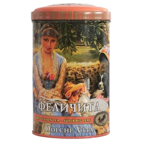 Чай черный Dolche Vita Феличита, 80 г