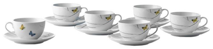 Чайный сервиз Esprado Primavera PRM025YE304 белый