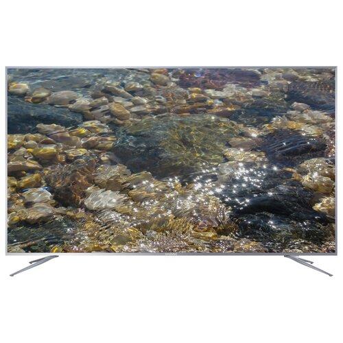 Фото - Телевизор Daewoo Electronics U75VA20VBE 75 (2018) серебристый led телевизор daewoo electronics l32t630vpe