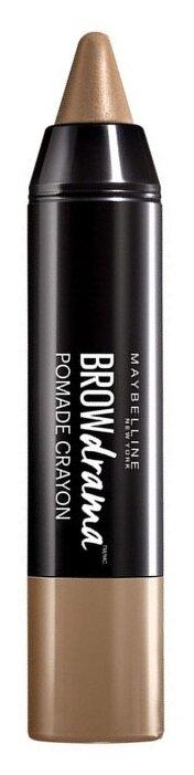 Maybelline карандаш для бровей Brow Drama Pomade Crayon