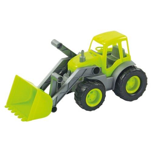 Купить Трактор ZEBRATOYS с ковшом Active в коробке (15-10176) 34 см зеленый, Машинки и техника