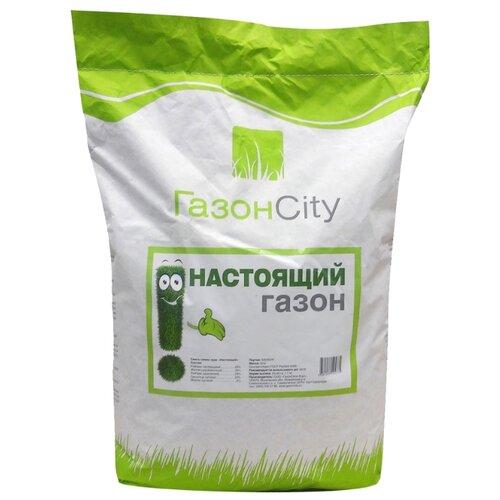 цена на Смесь семян ГазонCity Настоящий газон, 10 кг
