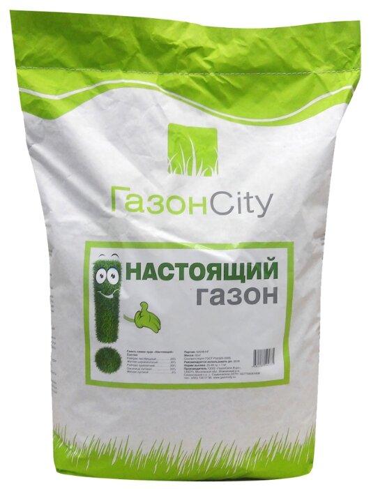 Смесь семян ГазонCity Настоящий газон, 10 кг