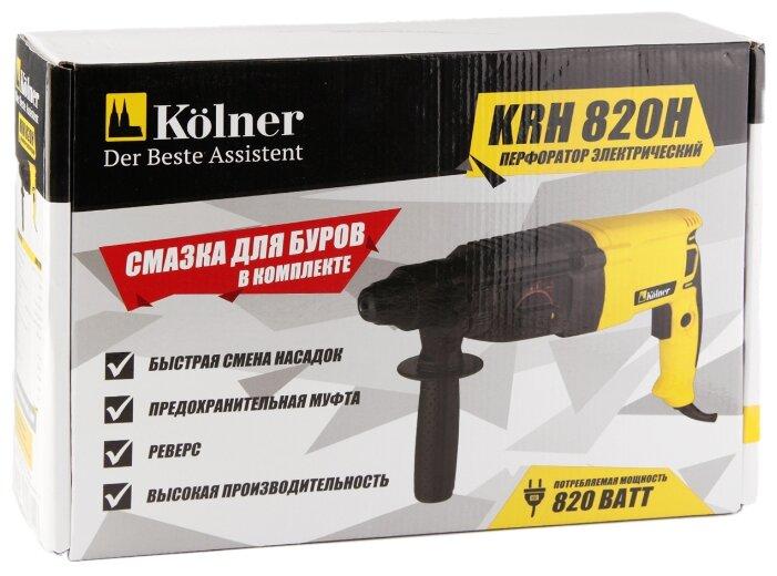 Перфоратор сетевой Kolner KRH 820H (2.5 Дж)