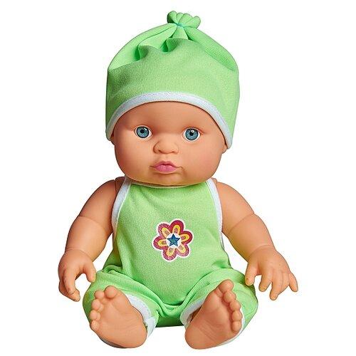 Пупс Cuddly baby в салатовом комбинезоне, 23.5 см, XM634/5Куклы и пупсы<br>