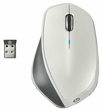 Мышь HP H2W27AA x4500 White-Grey USB