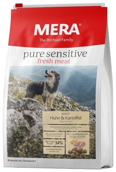 Корм для собак Mera Pure Sensitive Fresh Meat с курицей и картофелем для взрослых собак
