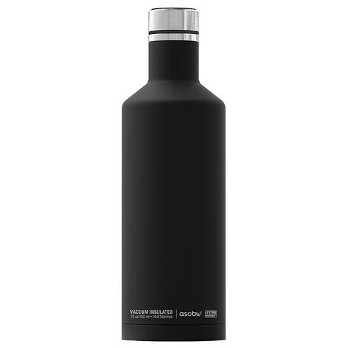 Фото - Термобутылка asobu Times square travel bottle (0,45 л) black термобутылка asobu central park travel bottle 0 51 л медный серебристый