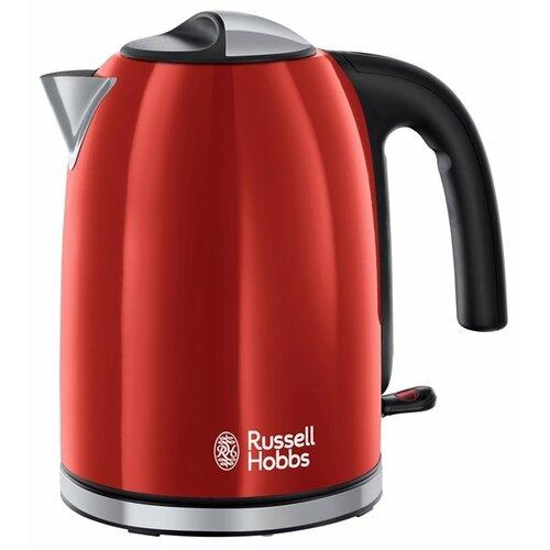 Чайник Russell Hobbs 20412-70, красный чайник russell hobbs 24991 silver