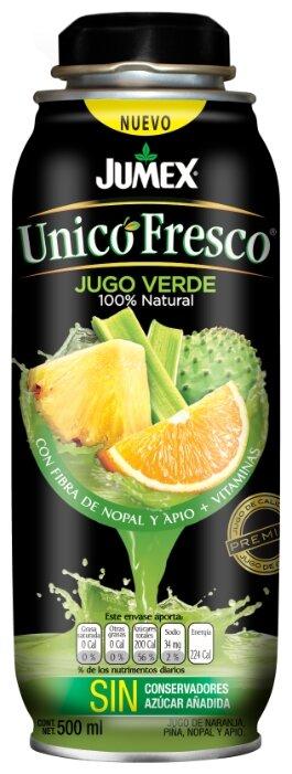 Сок Jumex Зеленый, без сахара, 0.5 л