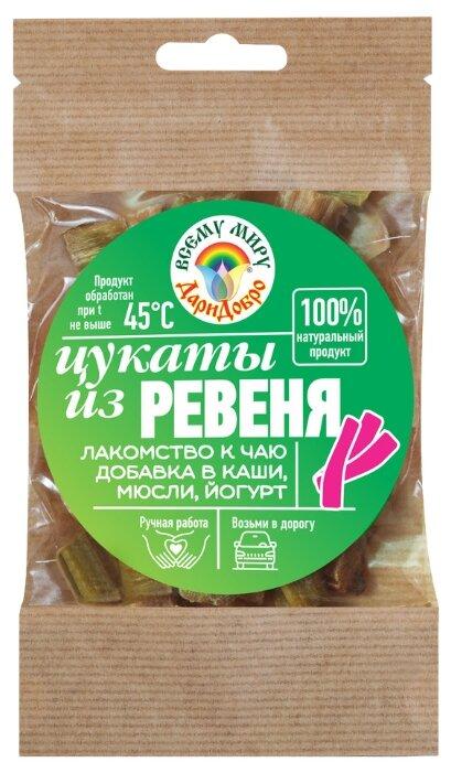 Цукаты ДариДобро из ревеня, 45 г