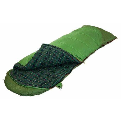 Спальный мешок Alexika Siberia Plus зеленый с левой стороны палатка alexika rondo 2 plus