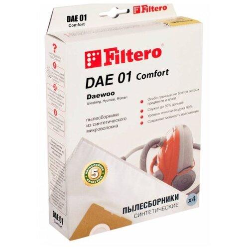 Filtero Мешки-пылесборники DAE 01 Comfort 4 шт.