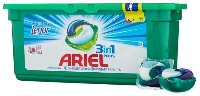 Капсулы Ariel PODS 3-в-1 Touch of Lenor Fresh