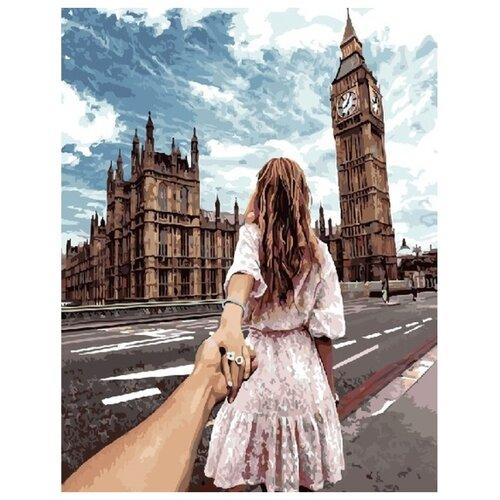 "Paintboy Картина по номерам ""Следуй за мной. Лондон"" 40х50 см (GX22063)"
