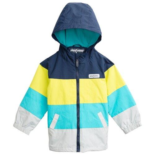 Купить Ветровка playToday размер 116, полоска, Куртки и пуховики