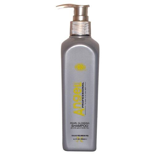 Angel Professional шампунь Pearl Glossing для седых и блондинистых волос 250 мл с дозатором