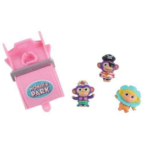 Купить Игровой набор Wonder Park Волшебный парк Джун - Вагончик и 3 обезьянки 4 36266, Игровые наборы и фигурки