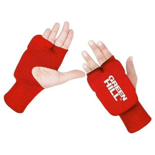 Тренировочные перчатки Green hill HP-6133 для карате красный XS платье oodji ultra цвет красный белый 14001071 13 46148 4512s размер xs 42 170