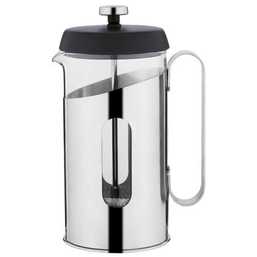 Френч-пресс BergHOFF Essentials 1107129 (0,6 л) серебристый чайник заварочный поршневой essentials 0 6 л 1107129 berghoff