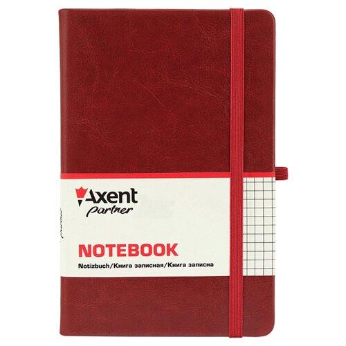 Блокнот Axent Partner Lux бордовый А5, 96 листов (8202-05-A)