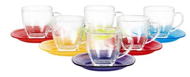 Чайный сервиз Luminarc Carina Rainbow 12 предметов N4217/J5978