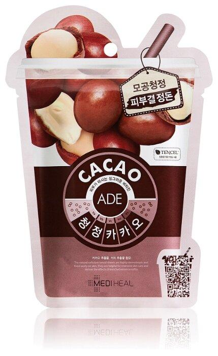 MEDIHEAL очищающая маска для Cacao Ade Mask с экстрактом какао