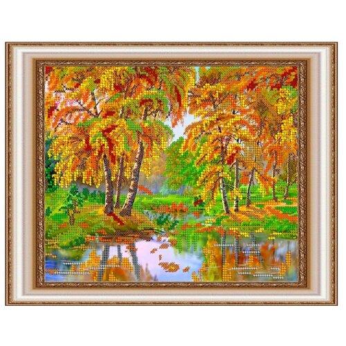 Светлица Набор для вышивания бисером Осень 24 x 19 см, бисер Чехия (157)Наборы для вышивания<br>