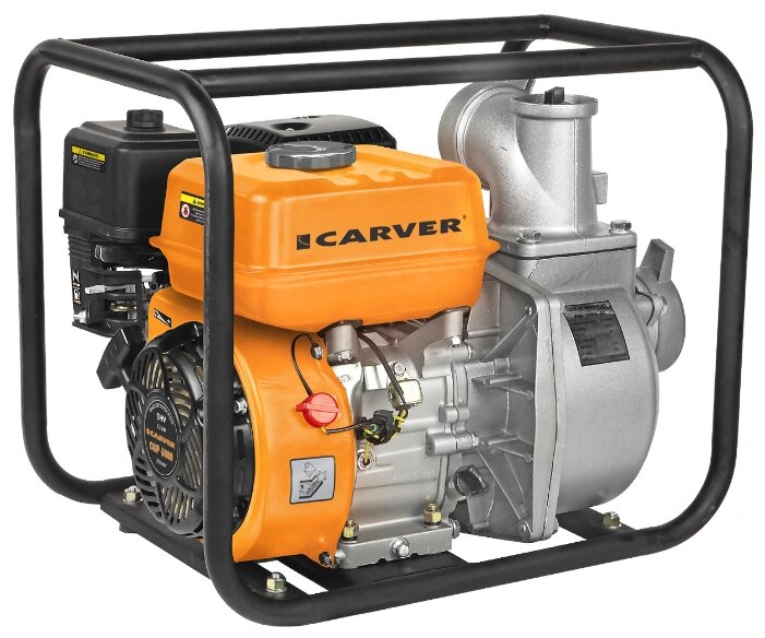 Мотопомпа Carver CGP 6080 7 л.с. 1000 л/мин