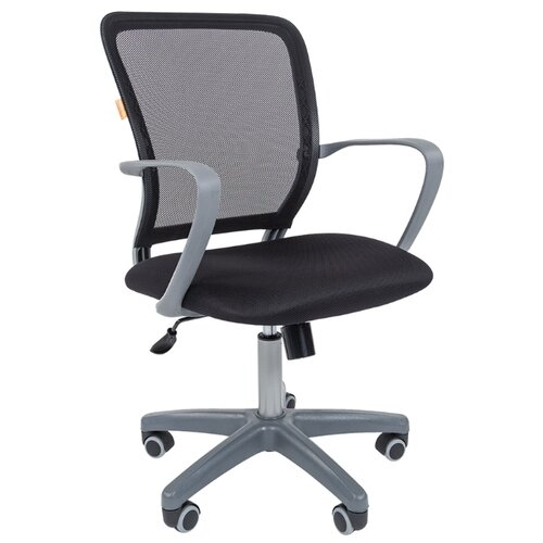 Компьютерное кресло Chairman 698, обивка: текстиль, цвет: gray/TW-01Компьютерные кресла<br>