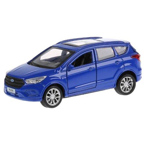 Купить Легковой автомобиль ТЕХНОПАРК Ford Kuga (KUGA-BU/GY/RD) 12 см синий, Машинки и техника