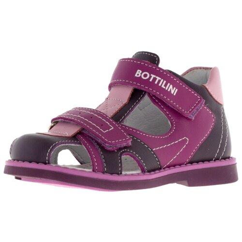Сандалии Bottilini размер 20, 6 фиолетовыйОбувь для малышей<br>