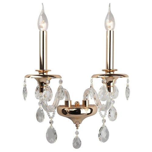 Настенный светильник Omnilux Marilleva OML-88611-02, 80 Вт настенный светильник omnilux asiago oml 85301 02 80 вт
