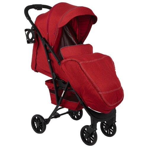 Прогулочная коляска Corol S-9 (2019) красный, цвет шасси: черный прогулочная коляска corol s 9 2020 пудровый
