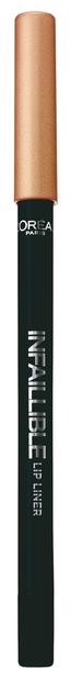 L Oreal Paris Infaillible Карандаш для контура губ 711 неукротимый красный
