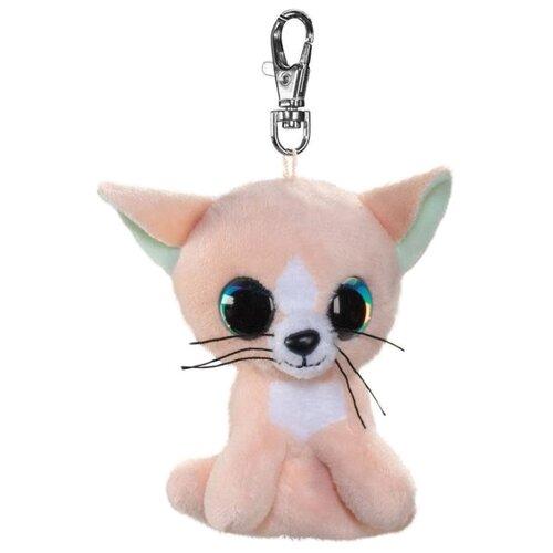 Игрушка-брелок Lumo Stars Котёнок Peach 8.5 см