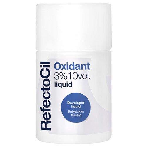 RefectoCil Оксидант жидкий 3%, 100 мл refectocil растворитель для краски 3% кремовая эмульсия 100 мл