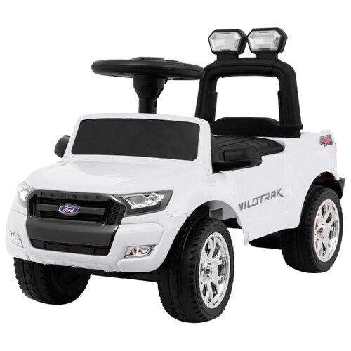 Купить Каталка-толокар RiverToys Ford Ranger DK-P01 со звуковыми эффектами белый, Каталки и качалки