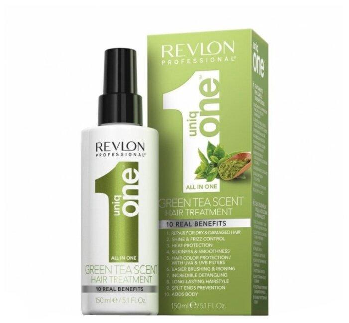 Revlon Professional Uniq One Несмываемая маска-спрей для волос с ароматом зеленого чая