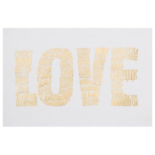Этель Полотенце Love кухонное 45х70 см белый полотенце кухонное domo vita дв 3554384