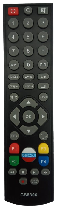 Пульт ДУ Huayu HSR617 для ресивера Триколор GS-8306