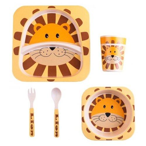 Комплект посуды Baby Ryan BF001 лев