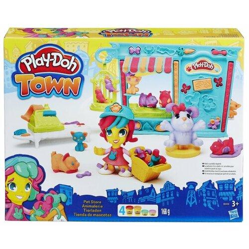 Купить Масса для лепки Play-Doh Магазинчик домашних питомцев (B3418), Пластилин и масса для лепки