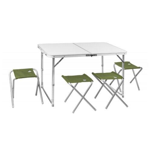 Комплект TREK PLANET Event Set 95 зеленый/белый/серыйПоходная мебель<br>