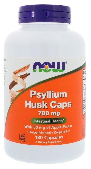Купить Psyllium Husk Caps капсулы 700 мг 180 шт. по низкой цене с доставкой из Яндекс.Маркета