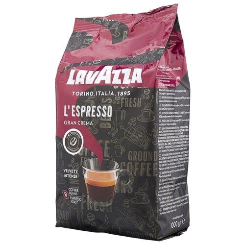 Кофе в зернах Lavazza Gran Crema Espresso, арабика/робуста, 1000 г