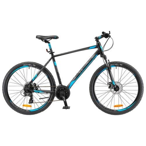 Фото - Горный (MTB) велосипед STELS Navigator 630 MD 26 V020 (2019) антрацитовый/синий 16 (требует финальной сборки) горный mtb велосипед stels miss 5000 md 26 v010 2019 бирюзовый 17 требует финальной сборки