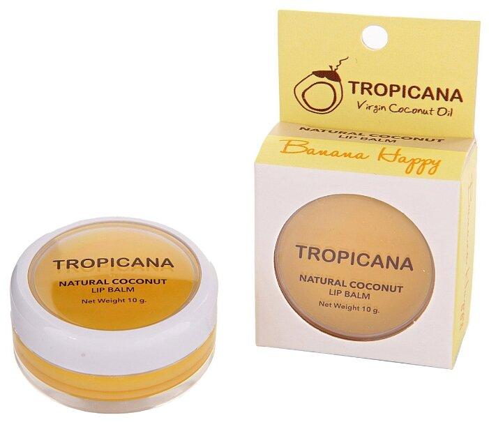 Tropicana Бальзам для губ Банановое счастье